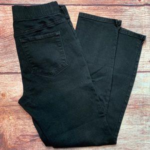 NYDJ Millie pull on Ankle Pants  Black Size 6